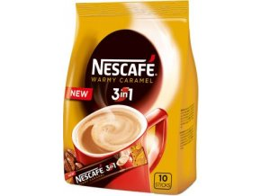 49307 nescafe 3in1 warmy caramel 10x16g