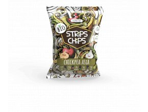 Bio Strips Chips Chickpea Asia 90g
