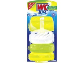 50318 wc trio lemon wc zavesny blok 3x55g edeka