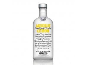 Absolut vodka citron 0,7 l