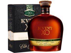 Brandy Kvint 20YO v dárkovém balení 40% 0,5l