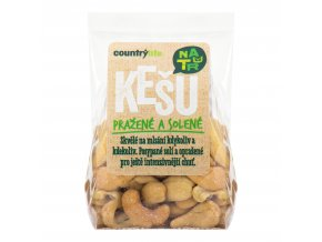 51551 kesu orechy prazene solene 100 g country life