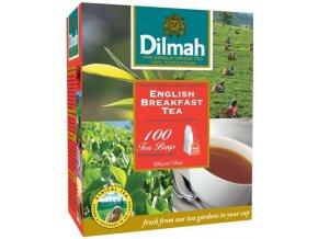 Čaj English Breakfast 100sáčků DILMAH
