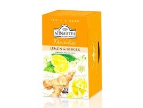 Čaj Citrón a Zázvor 40g Ahmad Tea