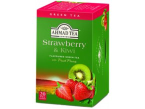 Čaj zelený s jahodou a kiwi 40g Ahmad Tea