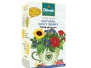 Čaj Naturally Spicy Berry 20 sáčků DILMAH
