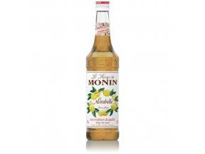 Monin Cherry Plum - Mirabelka 0,7 l