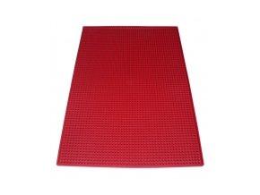 Barová podložka červená 30x45 cm