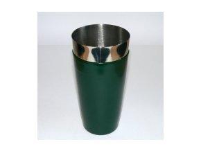Koktejlový shaker pro barmany vinyl zelený 0,7 l