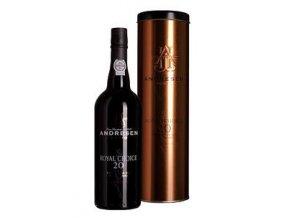 Portské víno J.H. Andresen Royal Choice 20 YO Port 0,7 l
