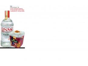 MG Gin Set 6x 1 l + 2,5 kg oříškové směsi s křupkami