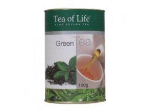 Čaj Tea of Life Zelený čaj sypaný 100 g