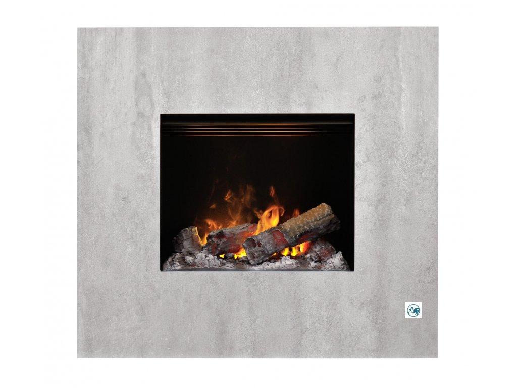 01 Dimplex Nissum concrete S 207821 Front