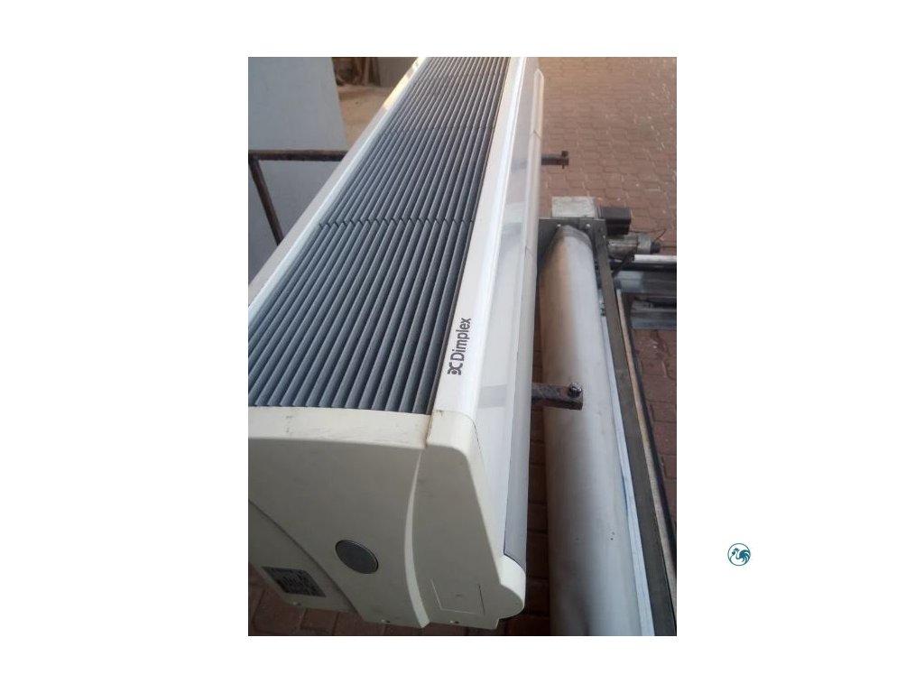 Vzduchová clona Dimplex - CAB 15 E vertikální velká (šířka 155,7 cm)
