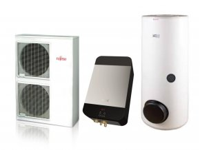 Tepelné čerpadlo Fujitsu NEORE topení + TUV