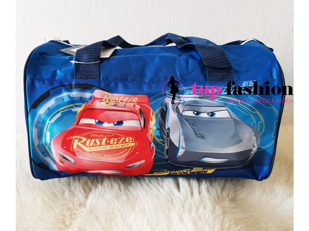 Dětská cestovní taška s potiskem CARS - AUTA.  Rozměr: 40 x 25 cm