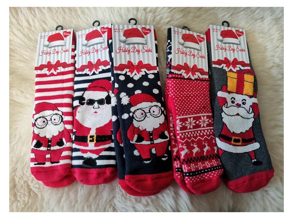 prtiskluzové ponožky 5 pack nové