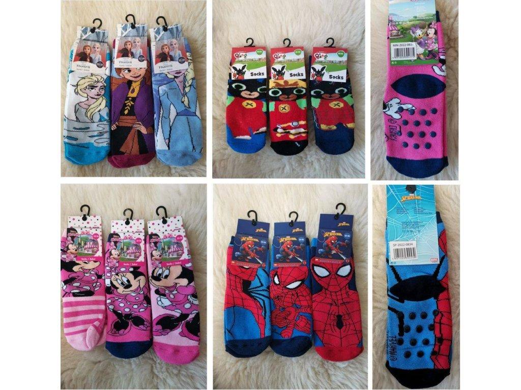Licenční ponožky 3 pack