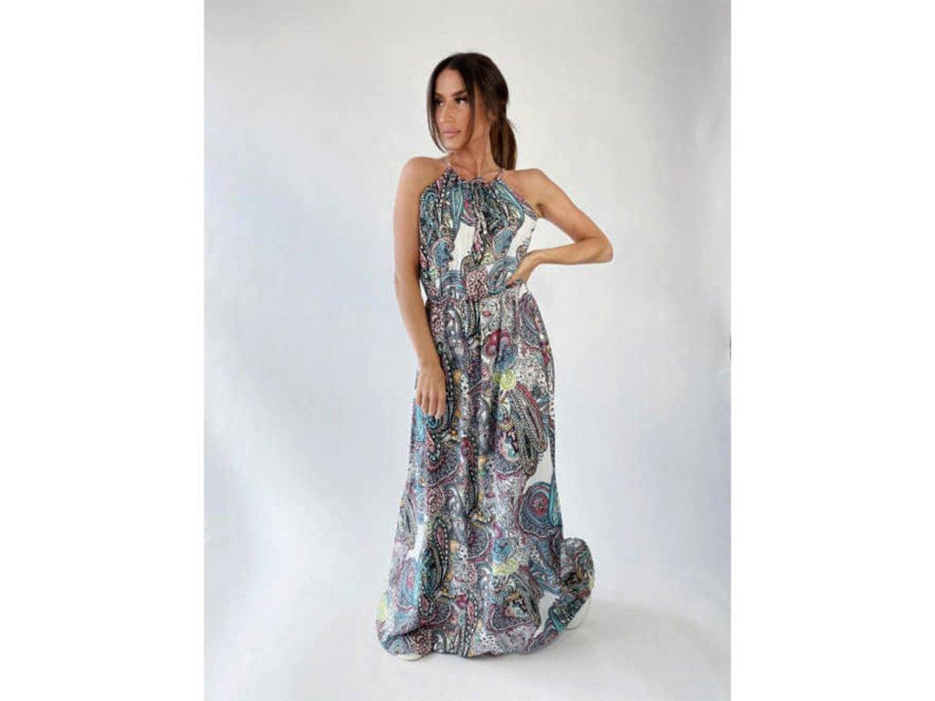 šaty indie dlouhé