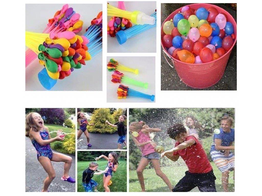 vodní balónky
