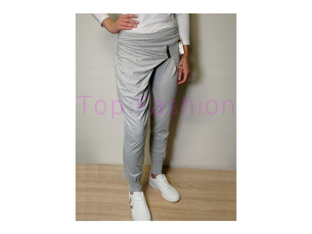 Teplákové kalhoty Zip