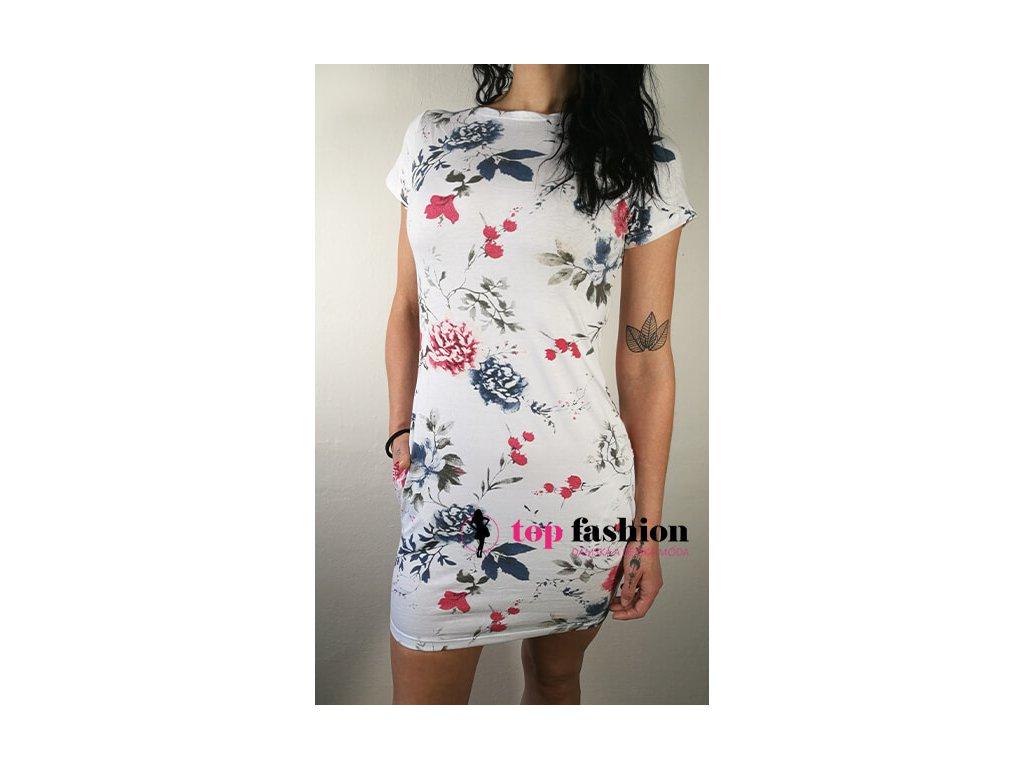 Šaty s květy 4