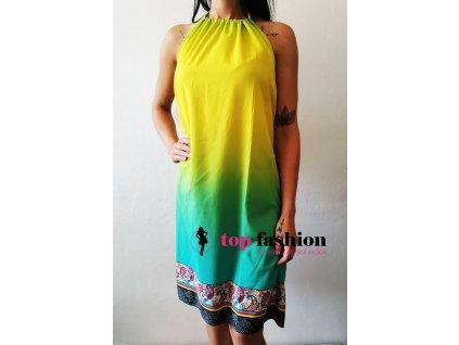 Duhové šaty
