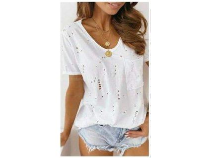 Děrované tričko
