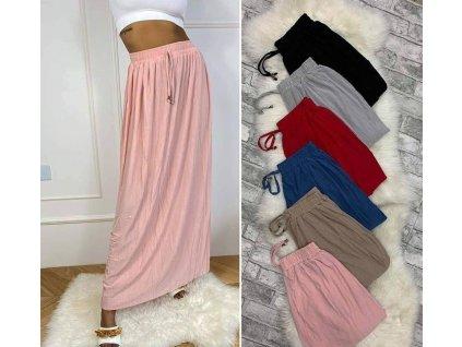 letní sukně barevná
