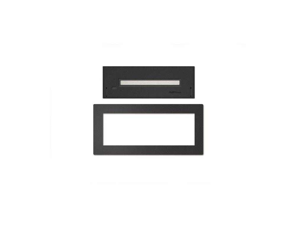 Built in profile L (black)