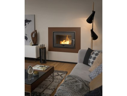 Hearth 700 Optimised with flue valvess