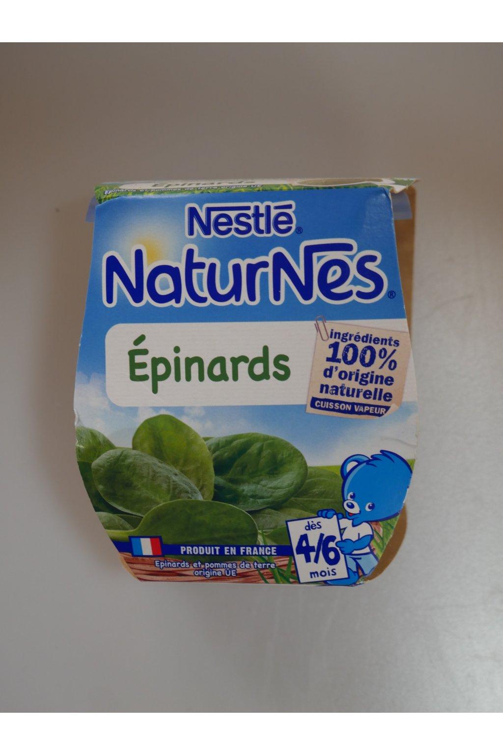 naturnes, épinrds, dès 4/6 mois