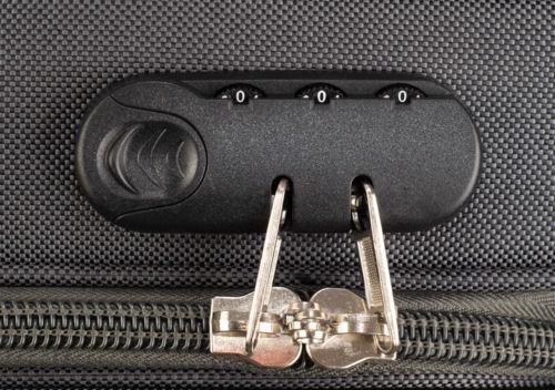 Jak správně nastavit číselný kód u zavazadla?