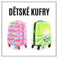 Dětské kufry pro malé objevitele!