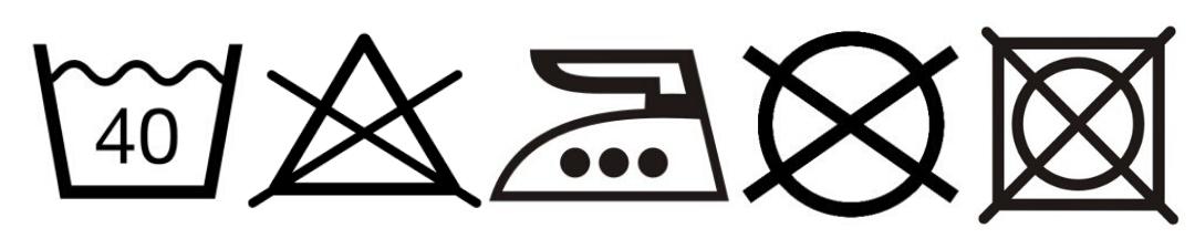 symboly košile