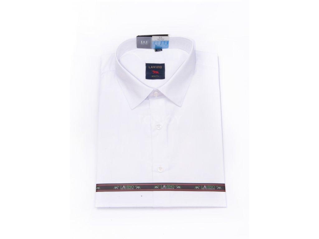 pánská košile krátký rukáv MSK 13 slim fit