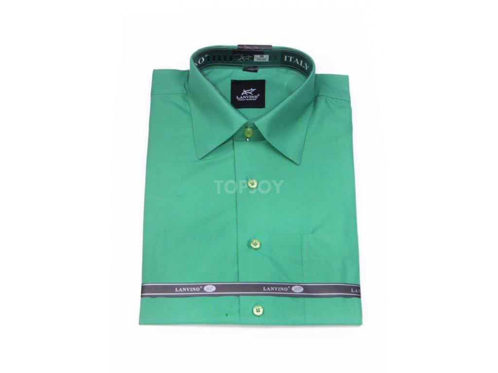 pánská košile krátký rukáv MK 74 regular fit
