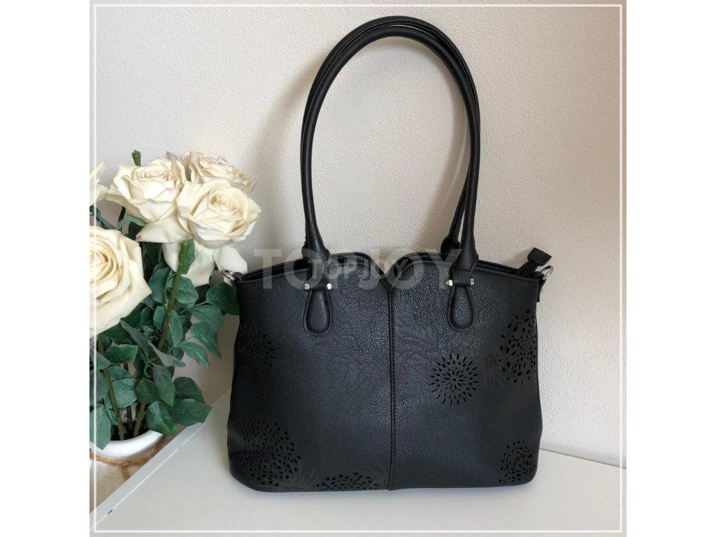 Dámská kabelka na rameno 5433 černá