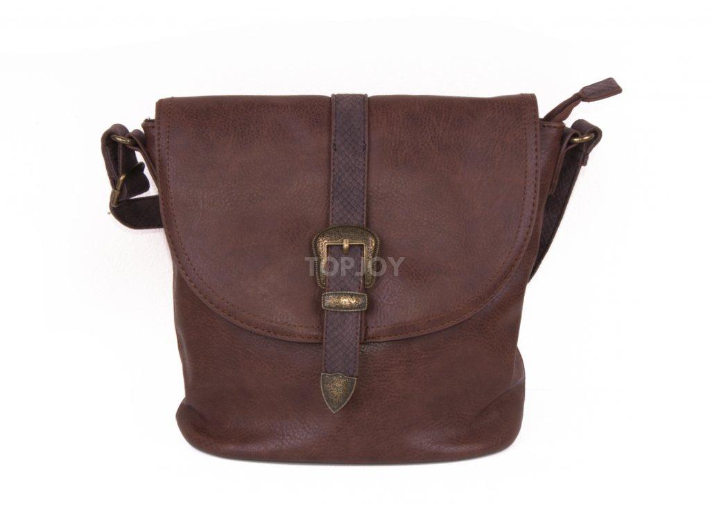 dámská boho koženková kabelka přes rameno 5092 (5)