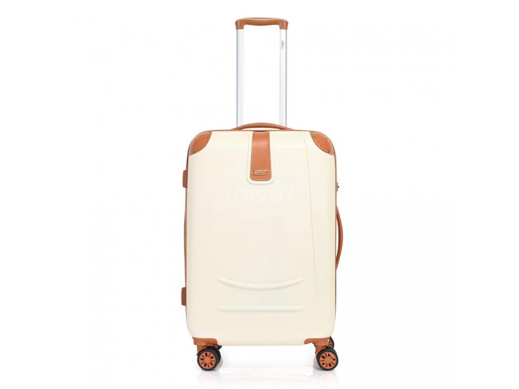 Bontour Elegance Bőrönd Fehér (8) (1)