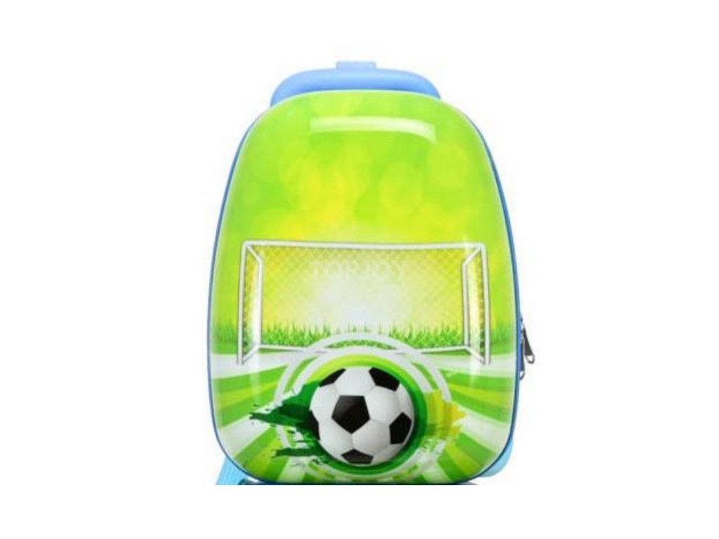 Dětský ABS cestovní batoh ke kufru 140341 fotbal