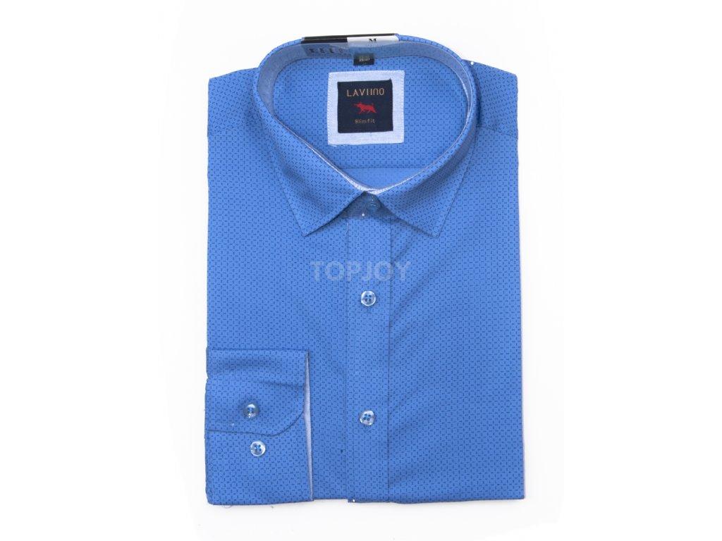 pánská košile s puntíkem ts103 (1)