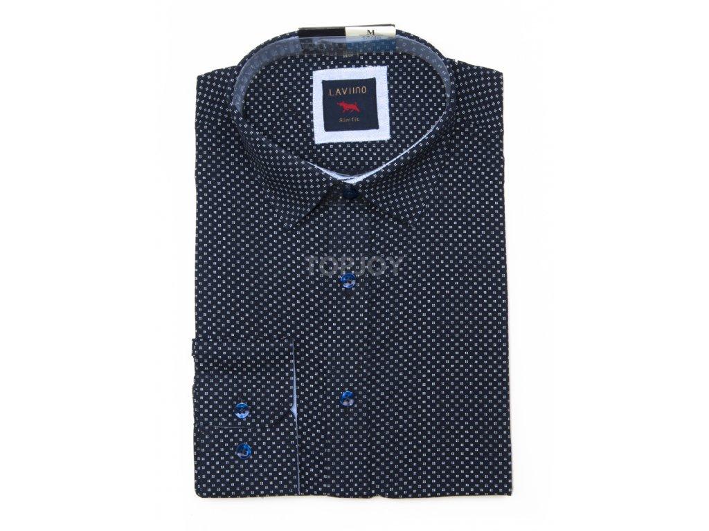 pánská košile s puntíkem ts103 (3)
