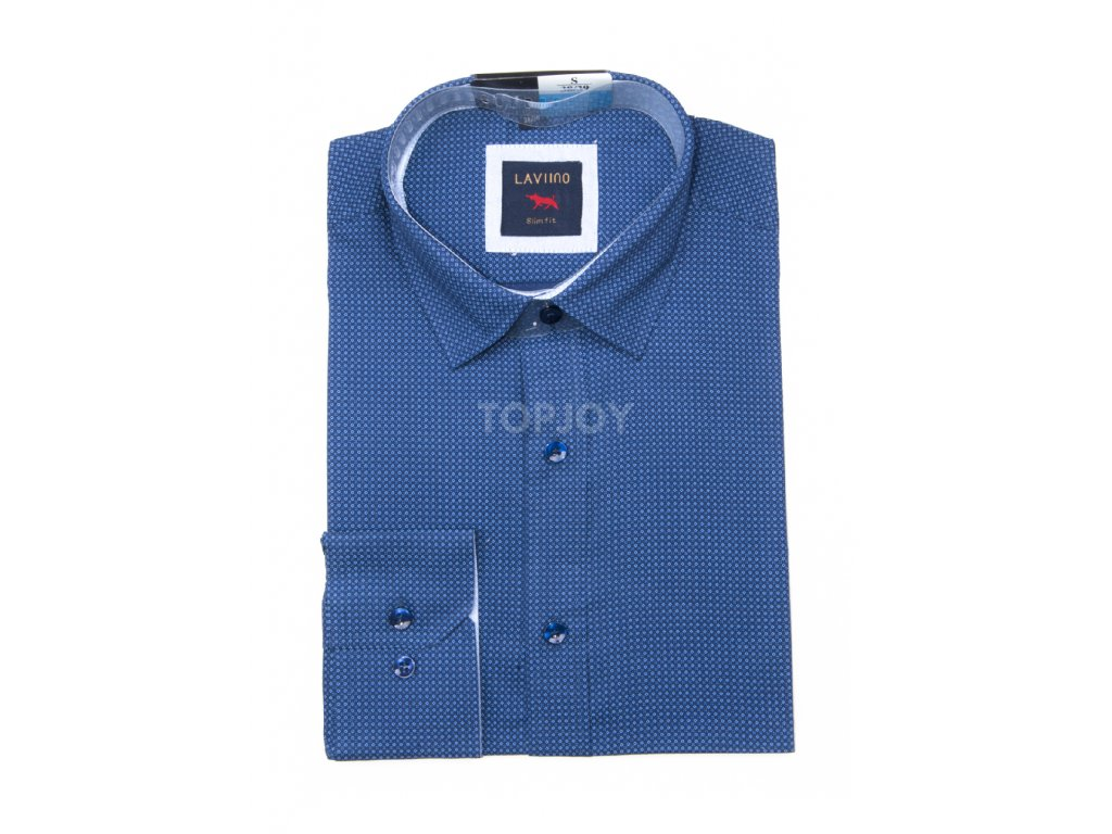 pánská košile s puntíkem ts103 (5)