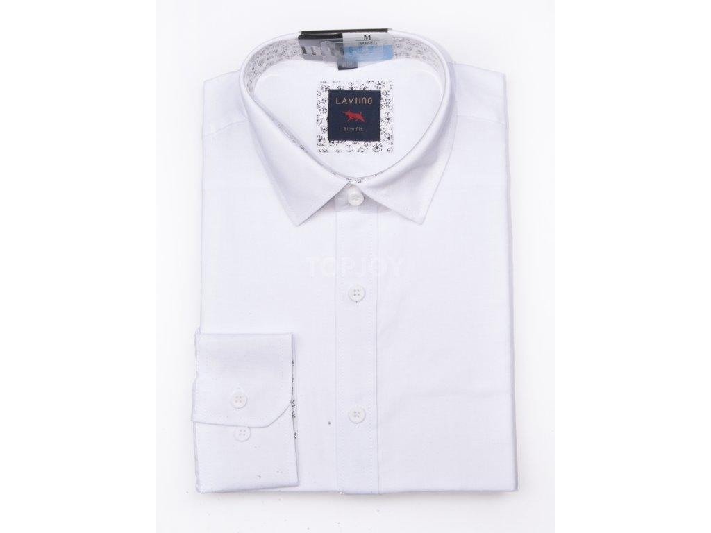 pánská lněná košile s dlouhým rukávem TS92 (3)