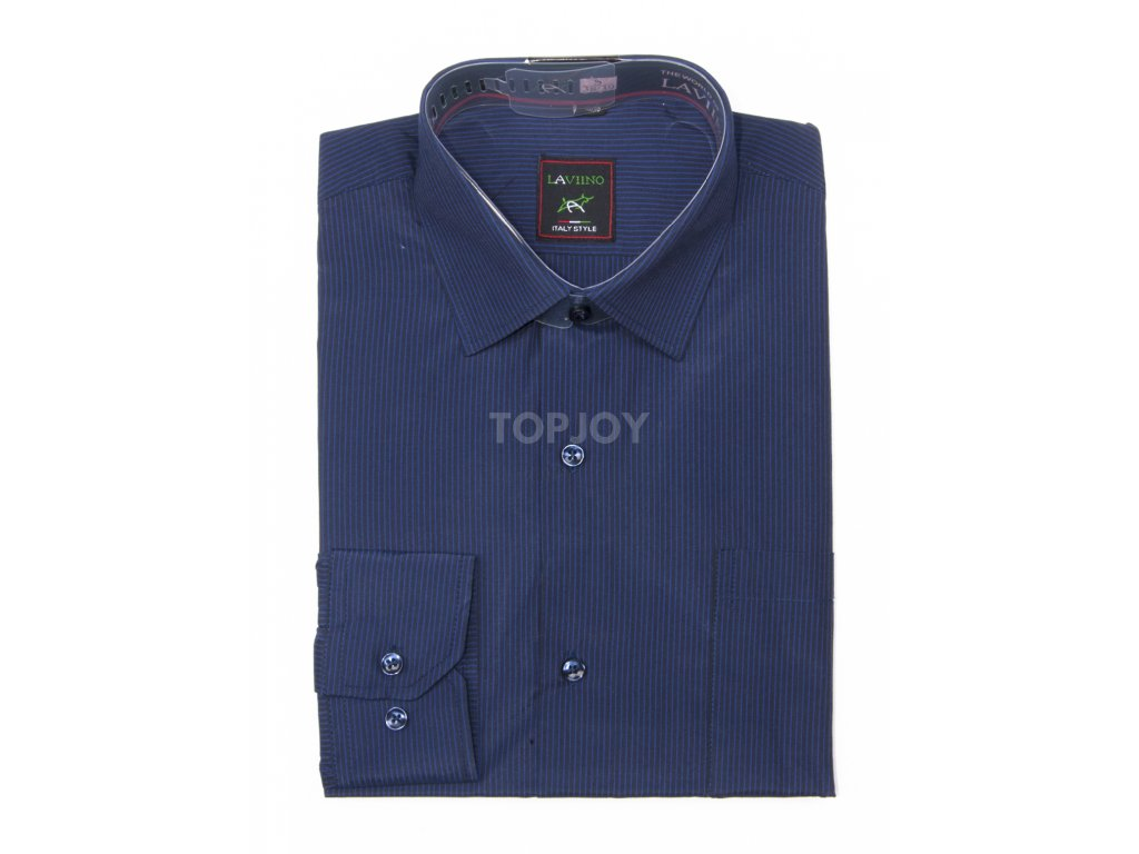 pánská proužkovaná košile s dlouhým rukávem ndt2 (5)
