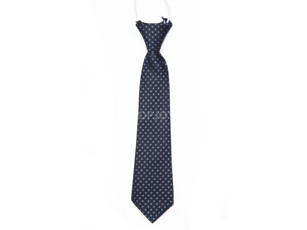 dětská kravata se vzorem na gumičku (1)