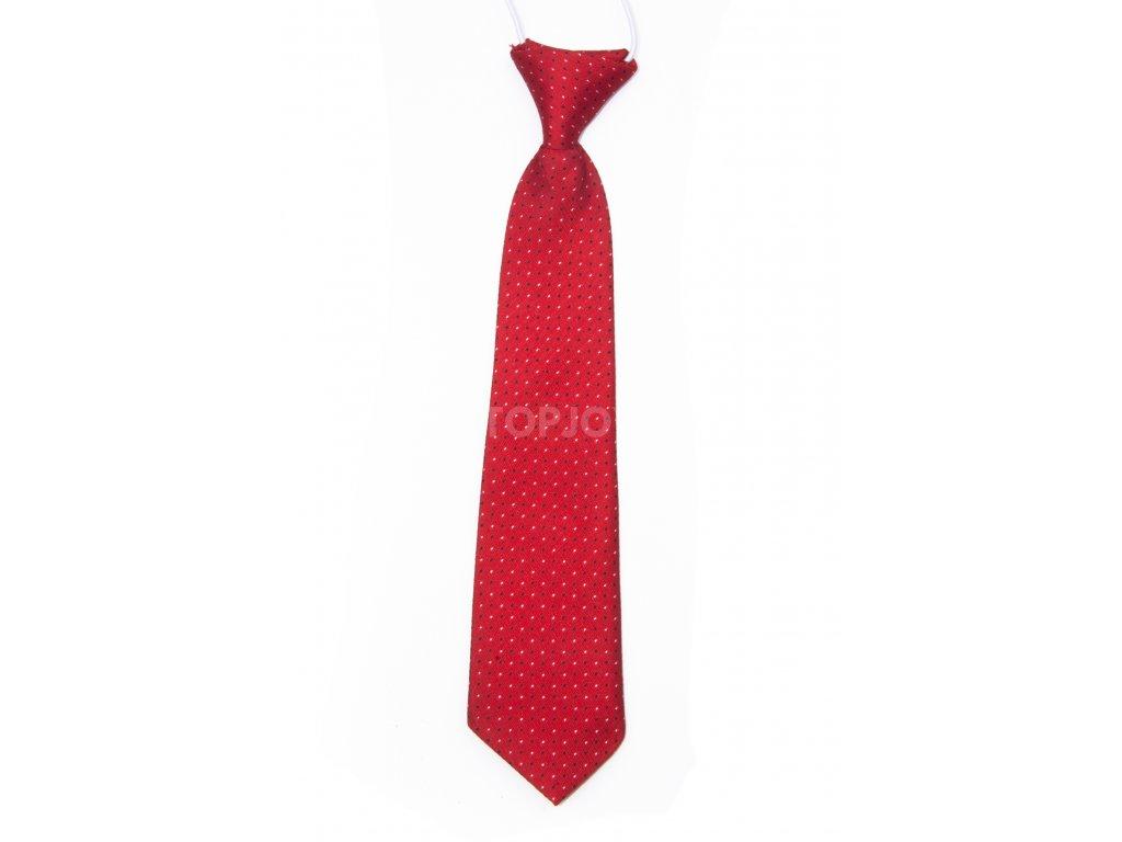 dětská kravata se vzorem na gumičku (2)