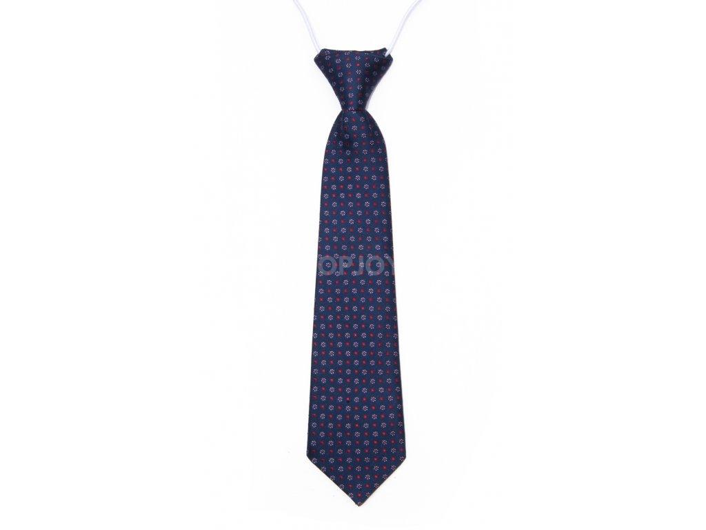 dětská kravata se vzorem na gumičku (13)