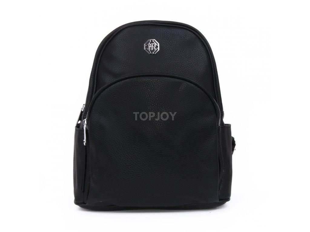 dámský městský batoh černý 2666 (1)